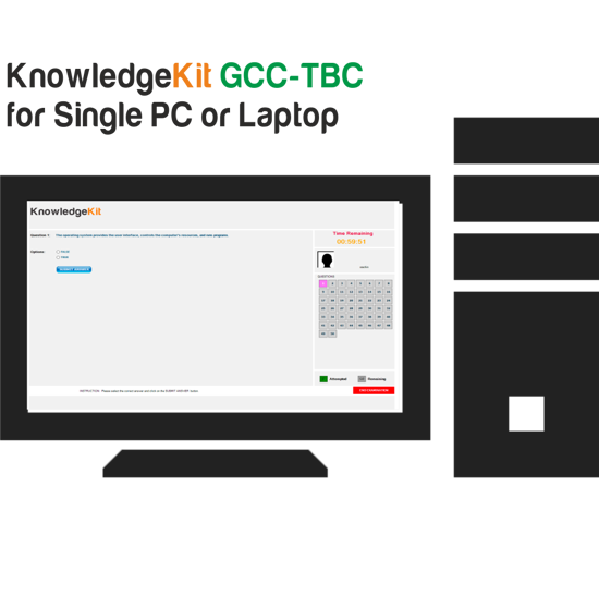 Picture of KnowledgeKit : GCC-TBC  for Single PC